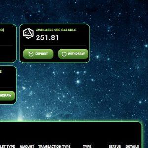 新しいSBCサイトのトップ画面