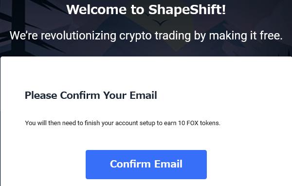 認証のメールが届くので「Confirm Email」をクリック